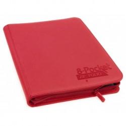 Zipfolio XenoSkin 8-Pocket Red