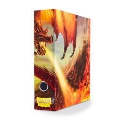 Carpeta Slipcase Binder Dragon Shield Rojo