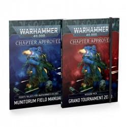 Warhammer 40k - Grand Tournament y Manual de Campo