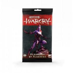 Warcry - Pack de cartas Hedonites of Slaanesh