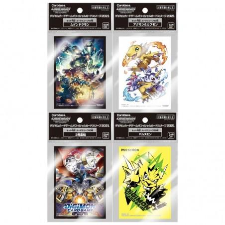 Digimon TCG - Fundas Digimon TCG Carddass