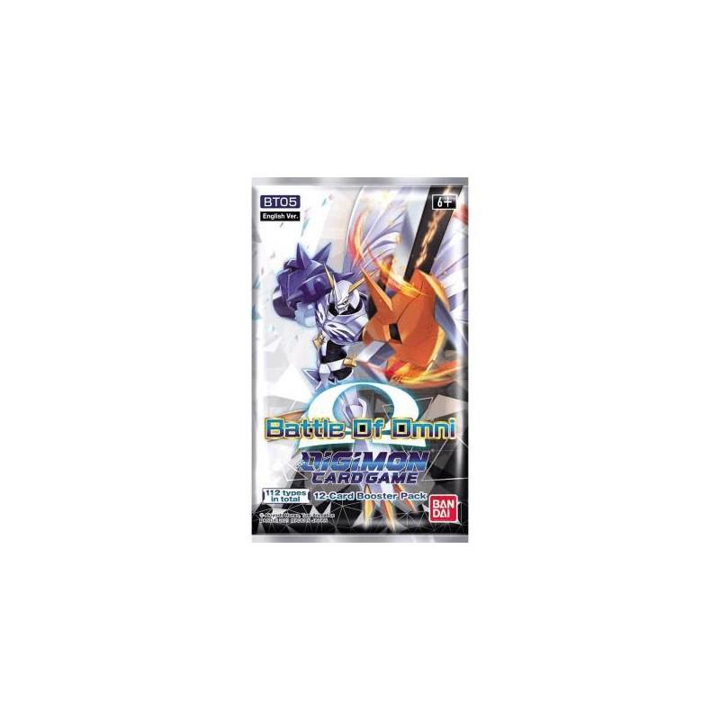 Digimon TCG - Sobre Battle of Omni