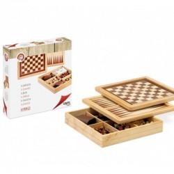 Ajedrez - Damas - Backgammon