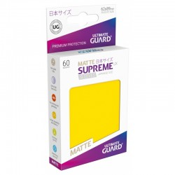 Supreme UX Matte Yellow Sleeves Japanese Size