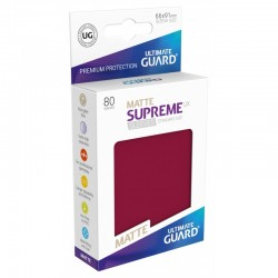 Supreme UX Matte Burgundy Sleeves Standard Size
