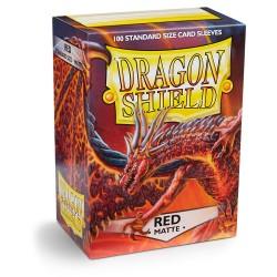 Dragon Shield Matte Red