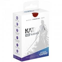 Katana Sleeves Standard Size Red