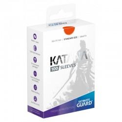 Katana Sleeves Standard Size Orange