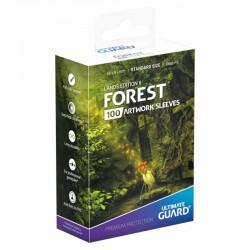 Lands Edition II Artwork Sleeves Forest