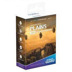 Lands Edition II Artwork Sleeves Plains
