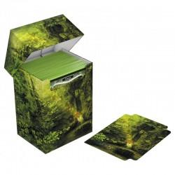 Deck Case 80  Lands Edition II - Bosque